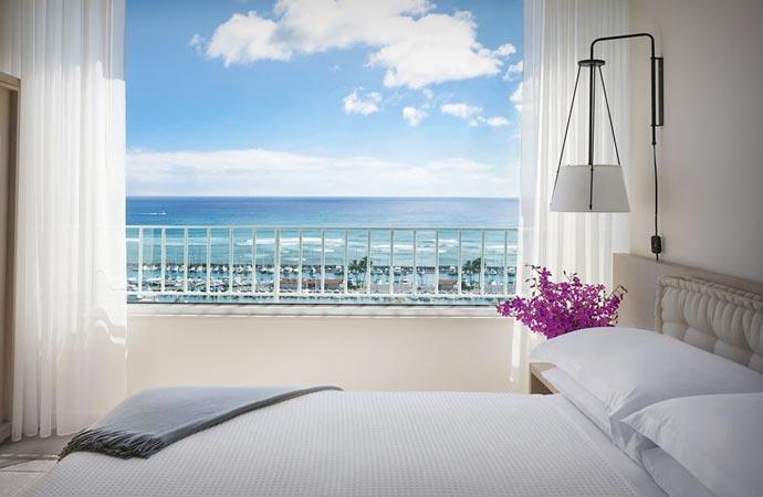 Room at Modern Honolulu resort