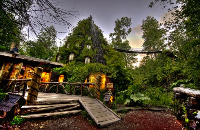 Magic Mountain Eco Resort in Chile