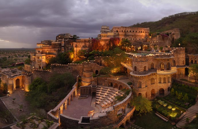Neemrana Fort-Palace in India