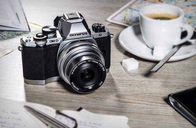 Olympus E-M10 camera