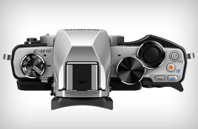 Olympus OM-D e-M10 camera buttons