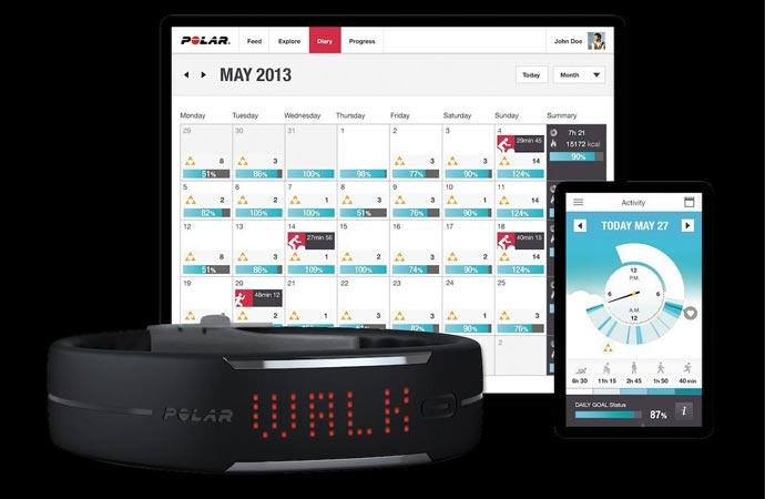 Polar Loop activity tracker software