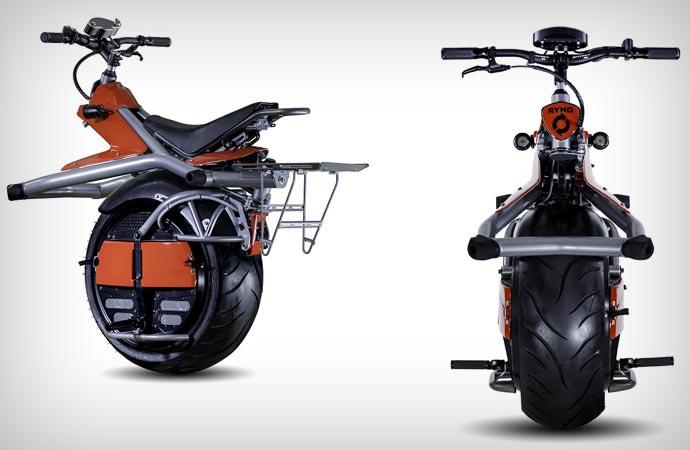 One Wheel Microcycle by Ryno Motors