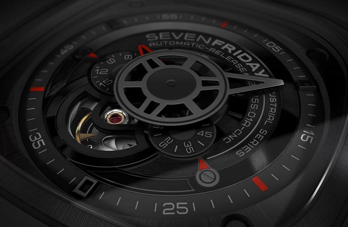 SEVENFRIDAY P3 Square watch