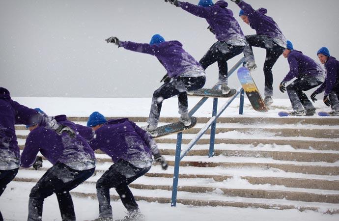How to use snowskates