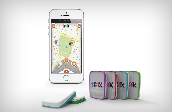 Trax real-time gps tracker