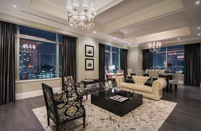 Room at the Trump Tower and Hotel in Toronto