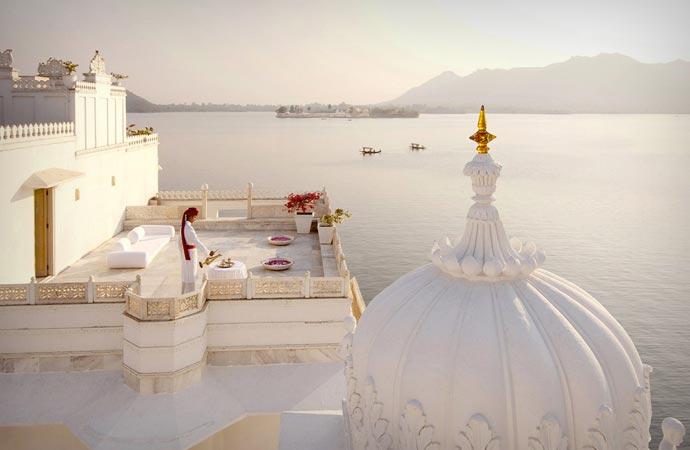 Taj Lake Palace in India
