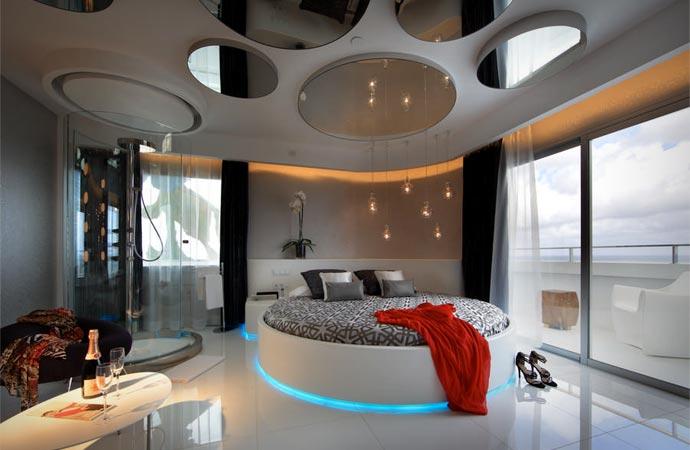 Room at Ushuaia Ibiza beach hotel