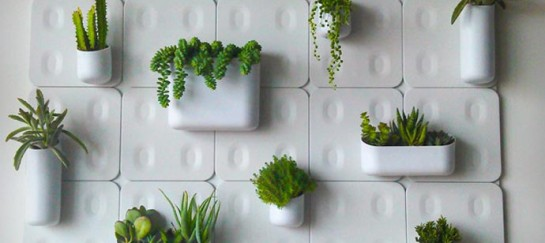VERTICAL MAGNETIC GARDEN | BY URBIO