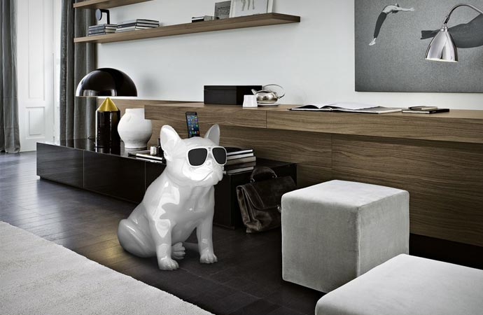 Aerobull Bulldog Shaped Speakers