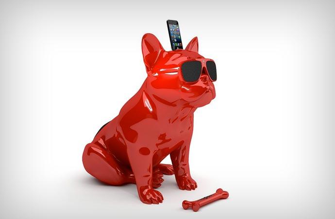 Aerobull Bulldog Shaped Speakers
