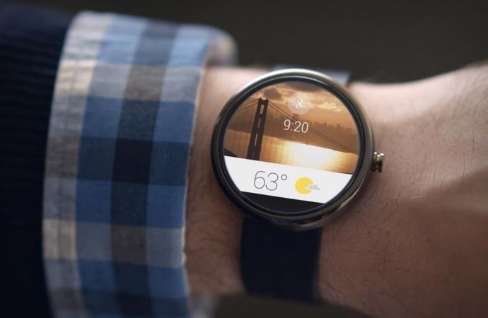 Weather on the Android Wear