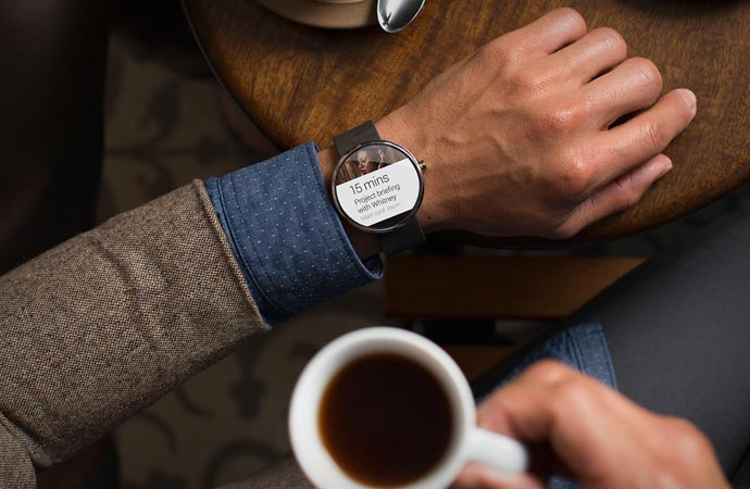 Schedule feature on the Android Wear