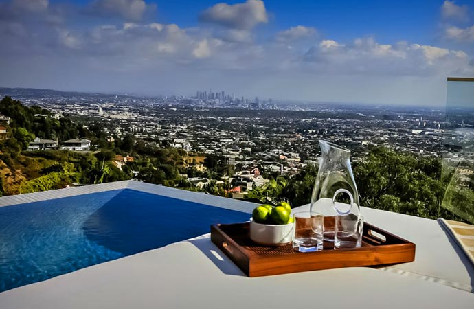 Avicii 39 s los angeles mansion - House with a view ...