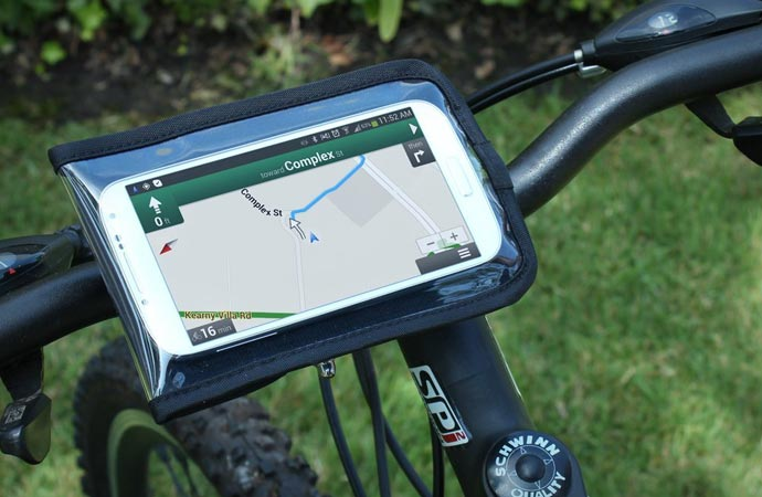 Ridemate bicycle phone mount by Satechi