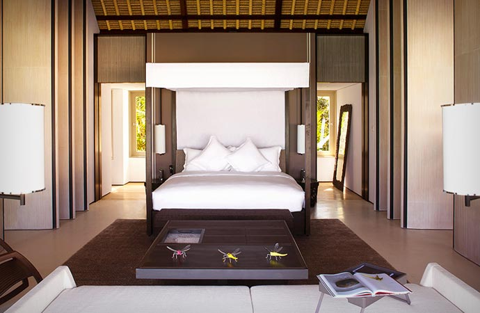 Room at Cheval Blanc in the Maldives