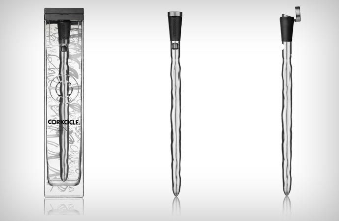 Corkcicle wine chiller and aerator