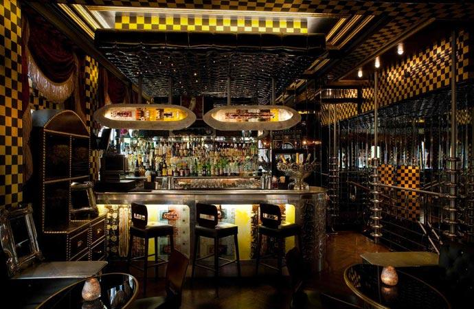 Bar at the Crazy Bear