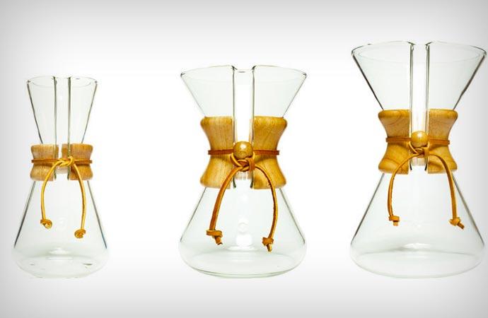 Small Chemex Coffee Maker : GLASS COFFEE MAKER BY CHEMEX