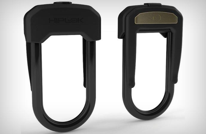 Hiplok lock for cyclists