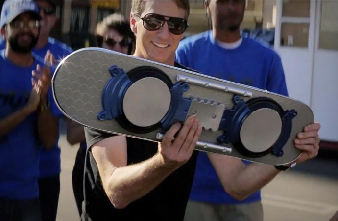 Tony Hawk and the Hoverboard