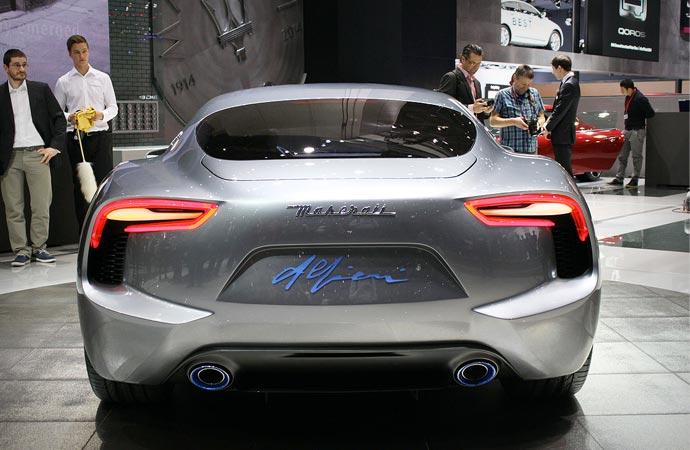 Maserati Alfieri back