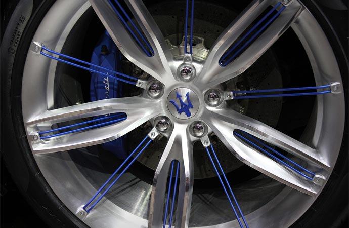 Maserati Alfieri wheel design