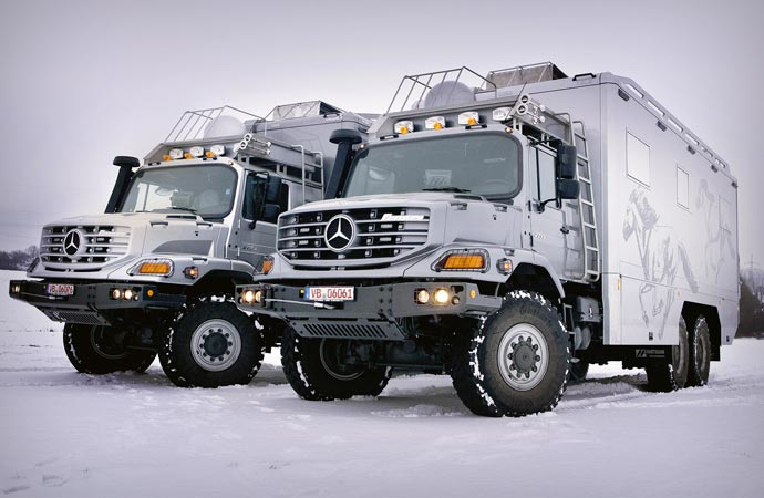 Mercedes benz zetros 2733 6x6 expedition vehicle for Mercedes benz zetros 6x6 expedition vehicle