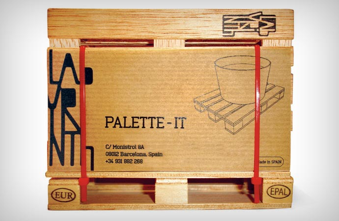 Pallet coaster packaging