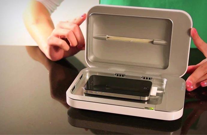 Phonesoap UV cell phone sanitizer