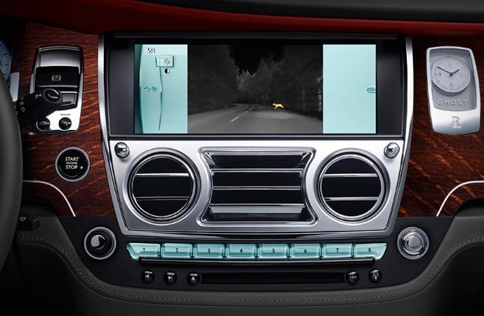 Technology inside the Rolls Royce Ghost Series II