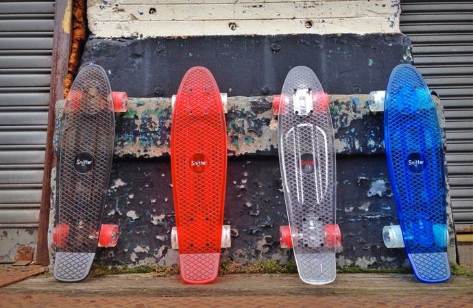 Snitto skateboards
