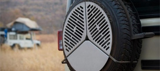 SPARE TIRE BBQ GRATE