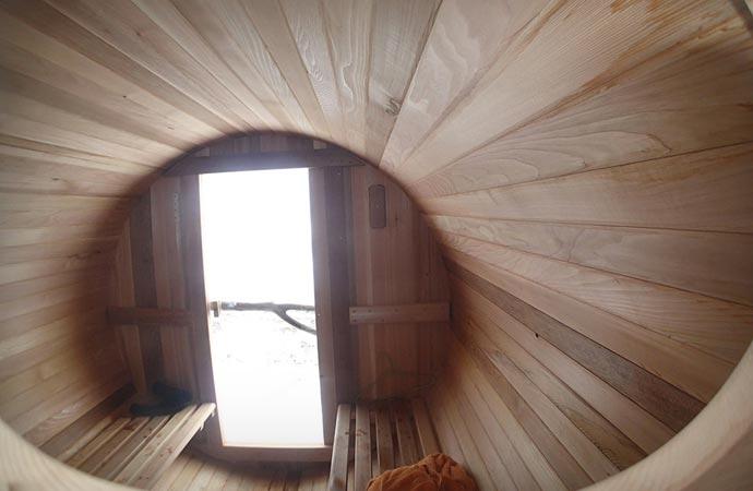 Surf Sauna interior