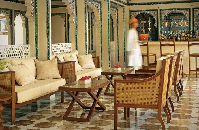 Taj Lake Palace interior