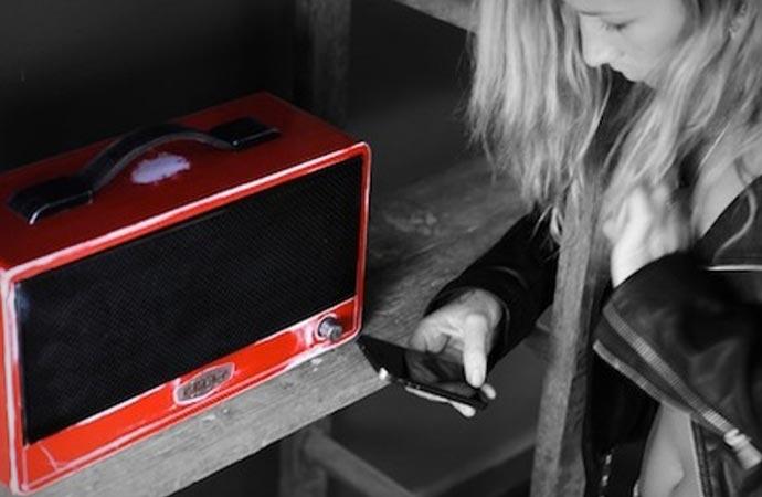 Designer bluetooth speaker