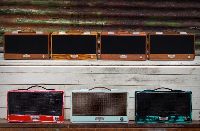 Bluetooth speakers by Bruns Acoustics
