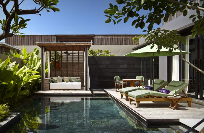 W retreat in Bali