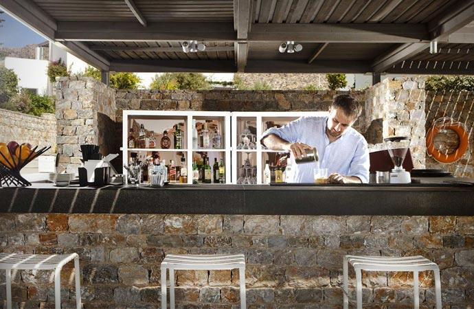 Bar at Anemi Hotel