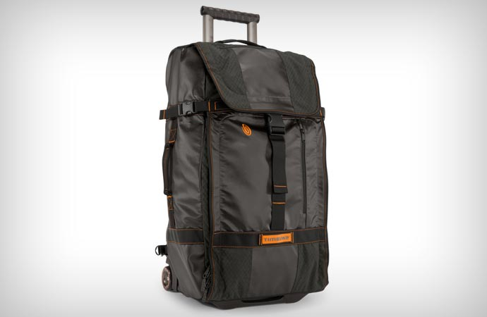 Wheeled travel backpack