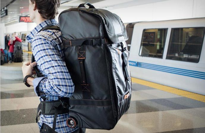 Wheeled backpack from Timbuk2