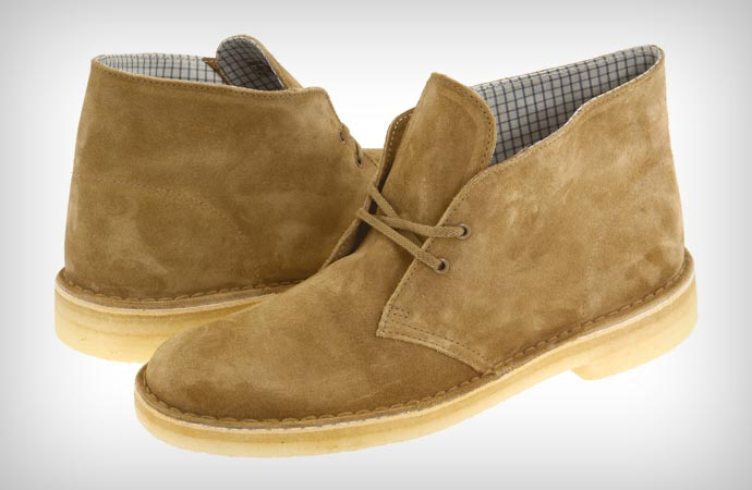 Oakwood Clarks desert boots