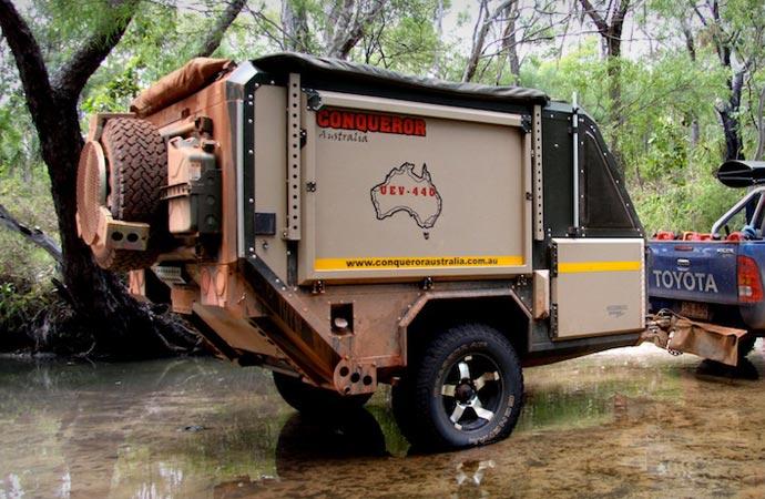 Conqueror off road trailer