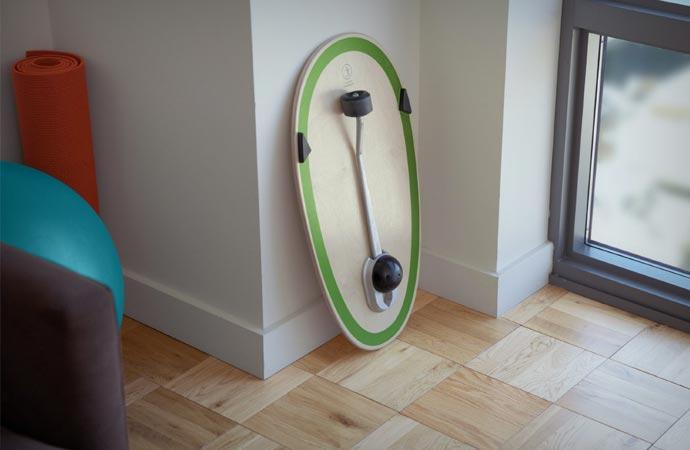 Balance board fitness equipment