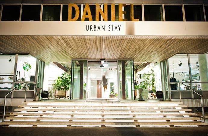 Hotel Daniel in Vienna exterior view
