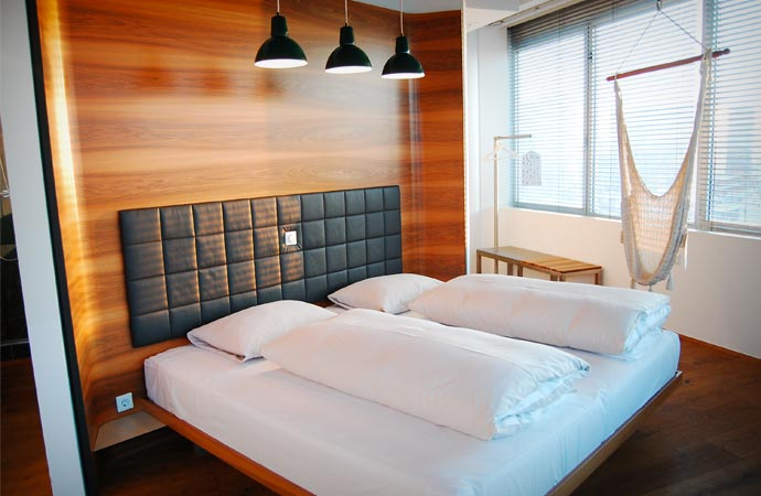 Panorama room at the Hotel Daniel in Vienna