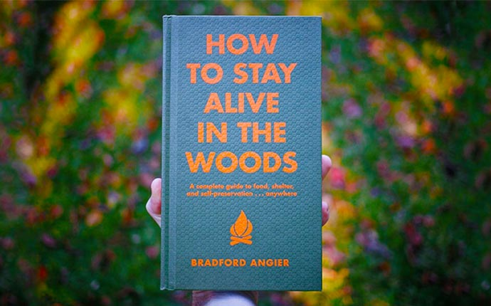 How to stay alive in the woods book by Bradford Angier