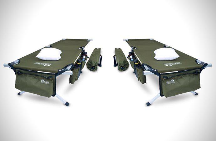 Military style crash cot