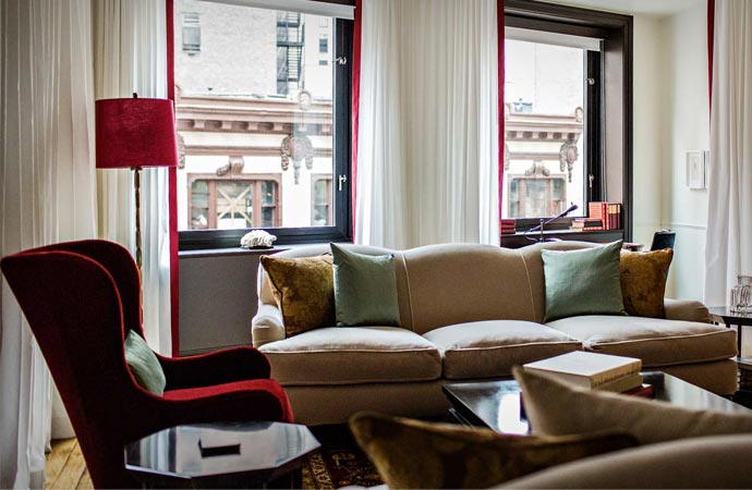 Room at the Nomad Hotel in New York